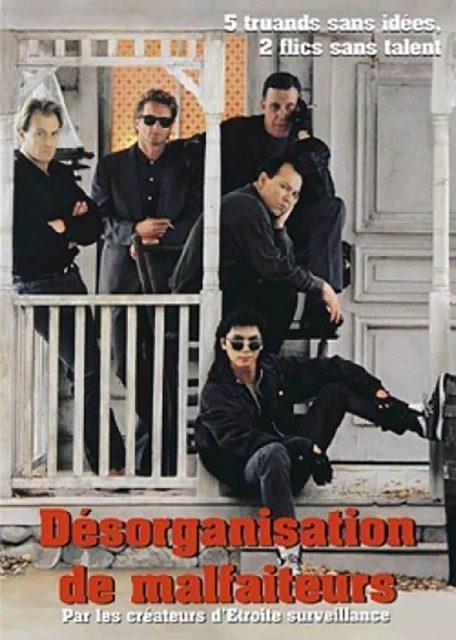 Affiche Poster désorganisation malfaiteurs Disorganized Crime disney touchstone