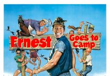 Affiche Poster ernest joyeuses colonies goes camp disney touchstone