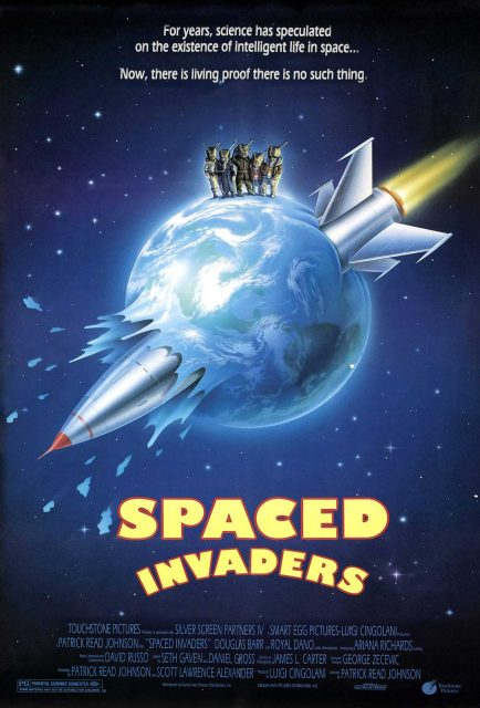 Affiche Poster marrrtiens spaced invaders disney touchstone