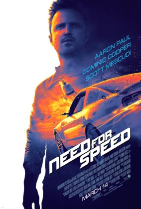Affiche Poster Need for speed disney touchstone pictures