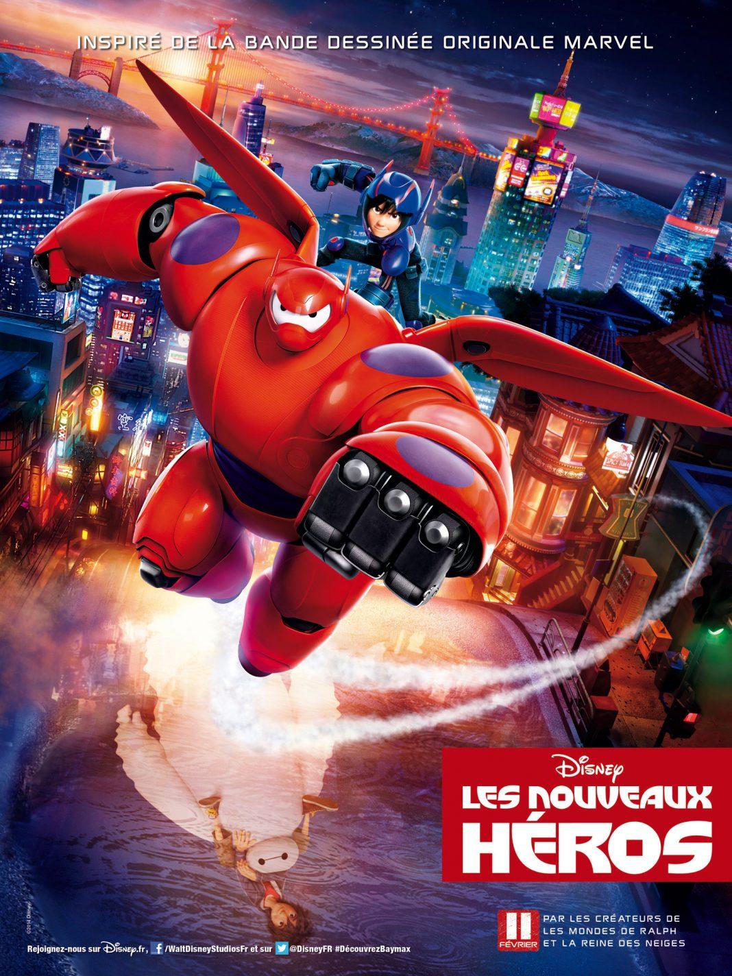 Les nouveaux héros affiche poster Disney