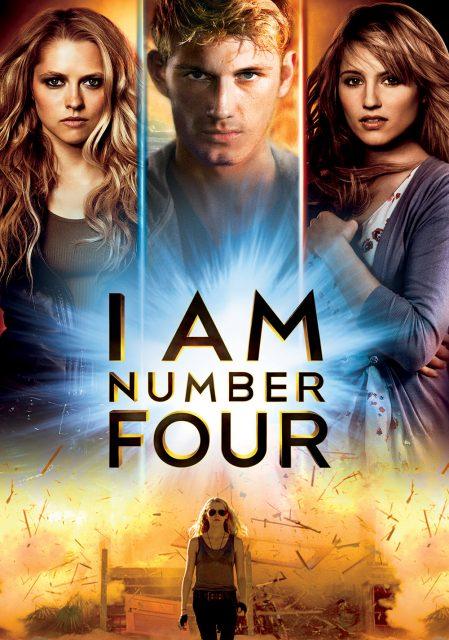Affiche Poster Numéro quatre Number Four Disney Touchstone Pictures