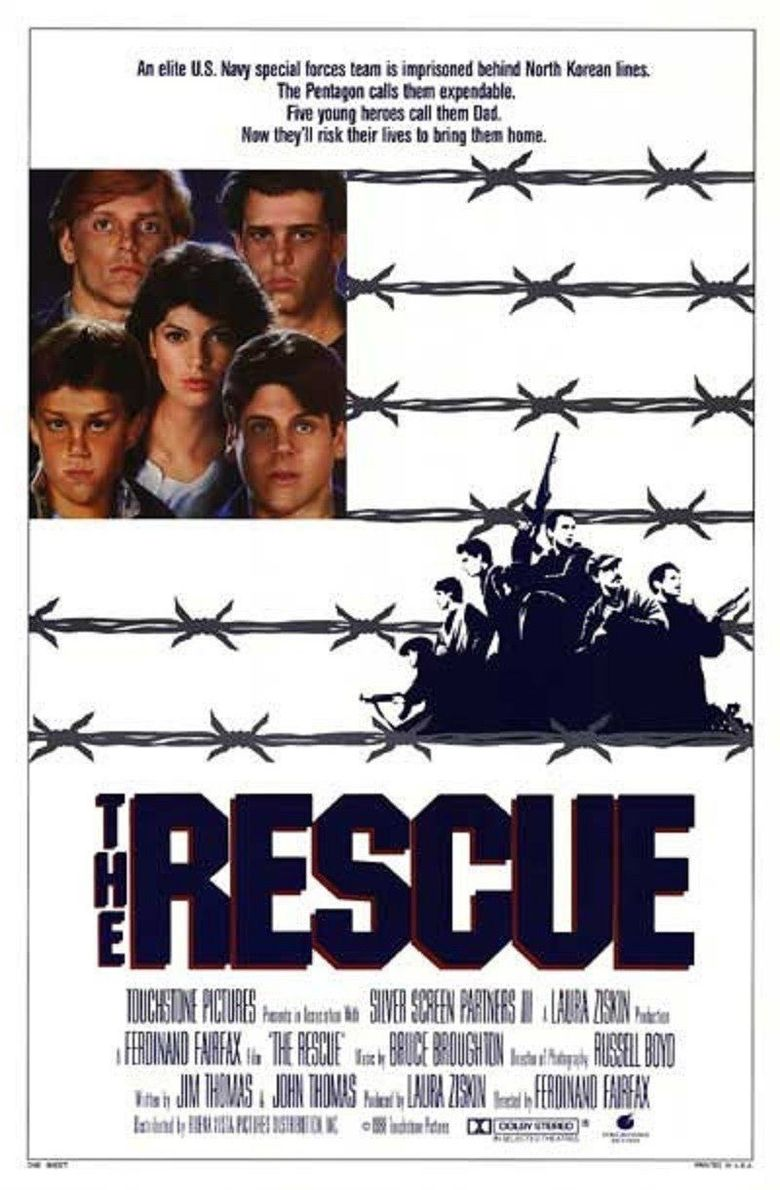 Affiche Poster opération phenix rescue disney touchstone