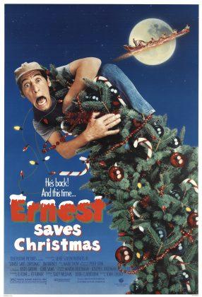 Affiche Poster ernest save christmas pere noel prison disney touchstone