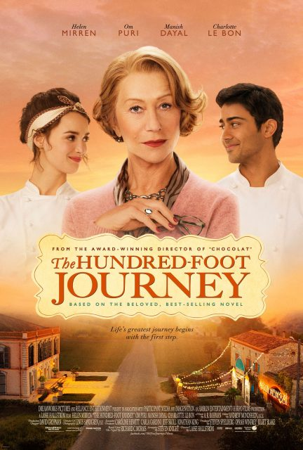 Affiche Poster recettes bonheur hundred foot journey disney touchstone