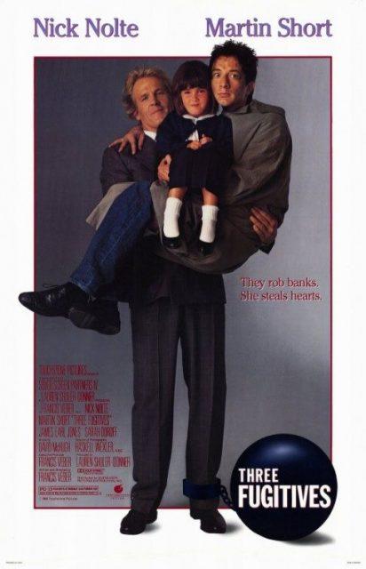 Affiche Poster trois three fugitifs fugitives disney touchstone