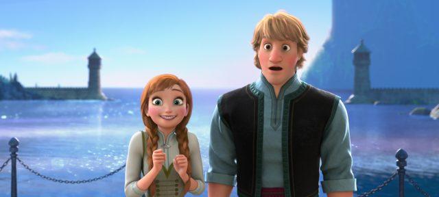anna princesse personnage character disney animation reine neiges frozen