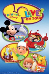 disney live playhouse on tour