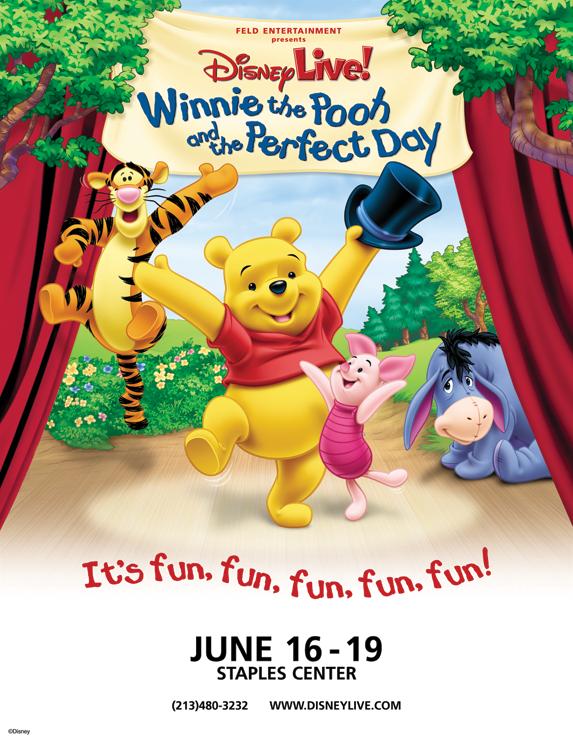 Disney Live Winnie the pooh