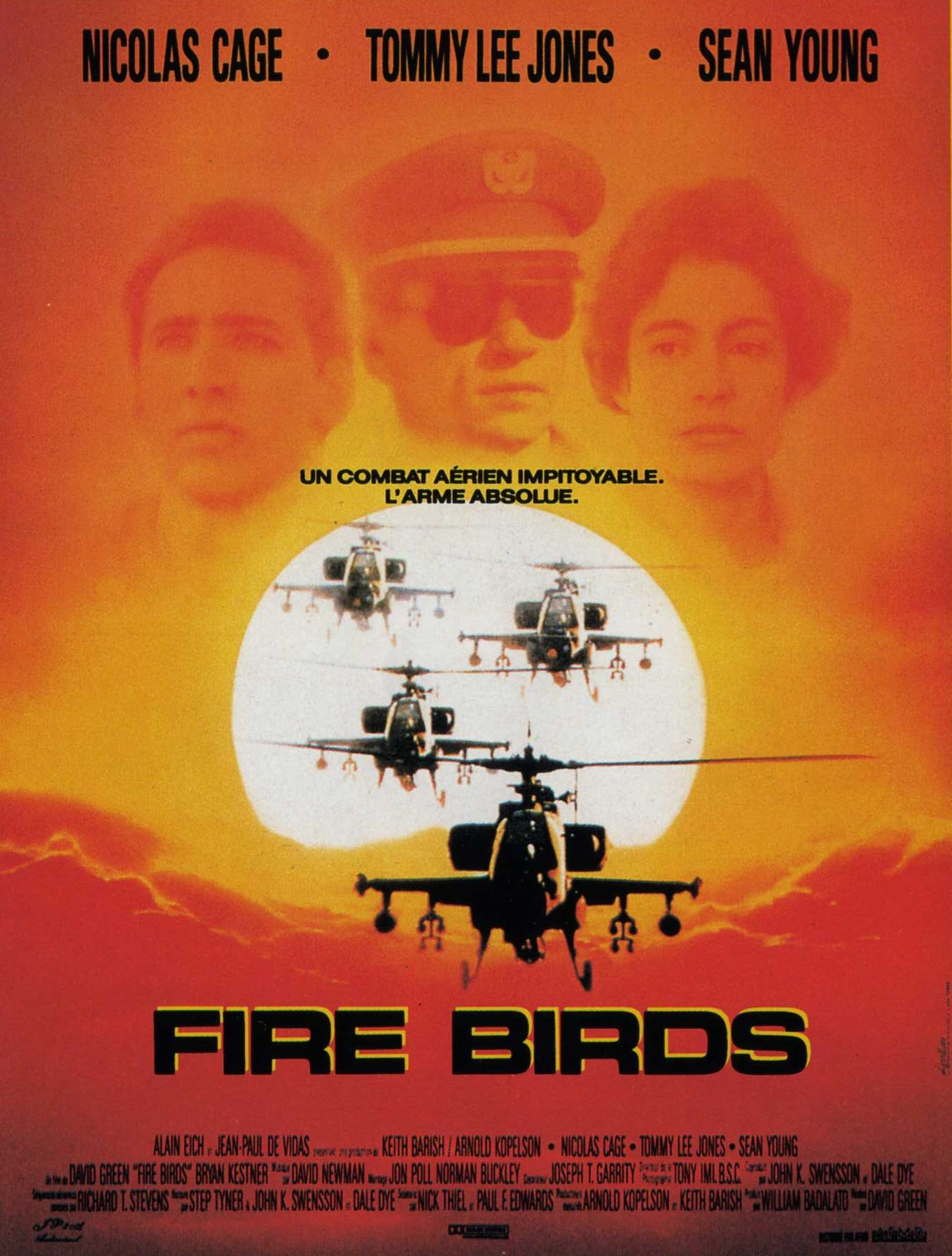 fire birds disney touchstone affiche poster