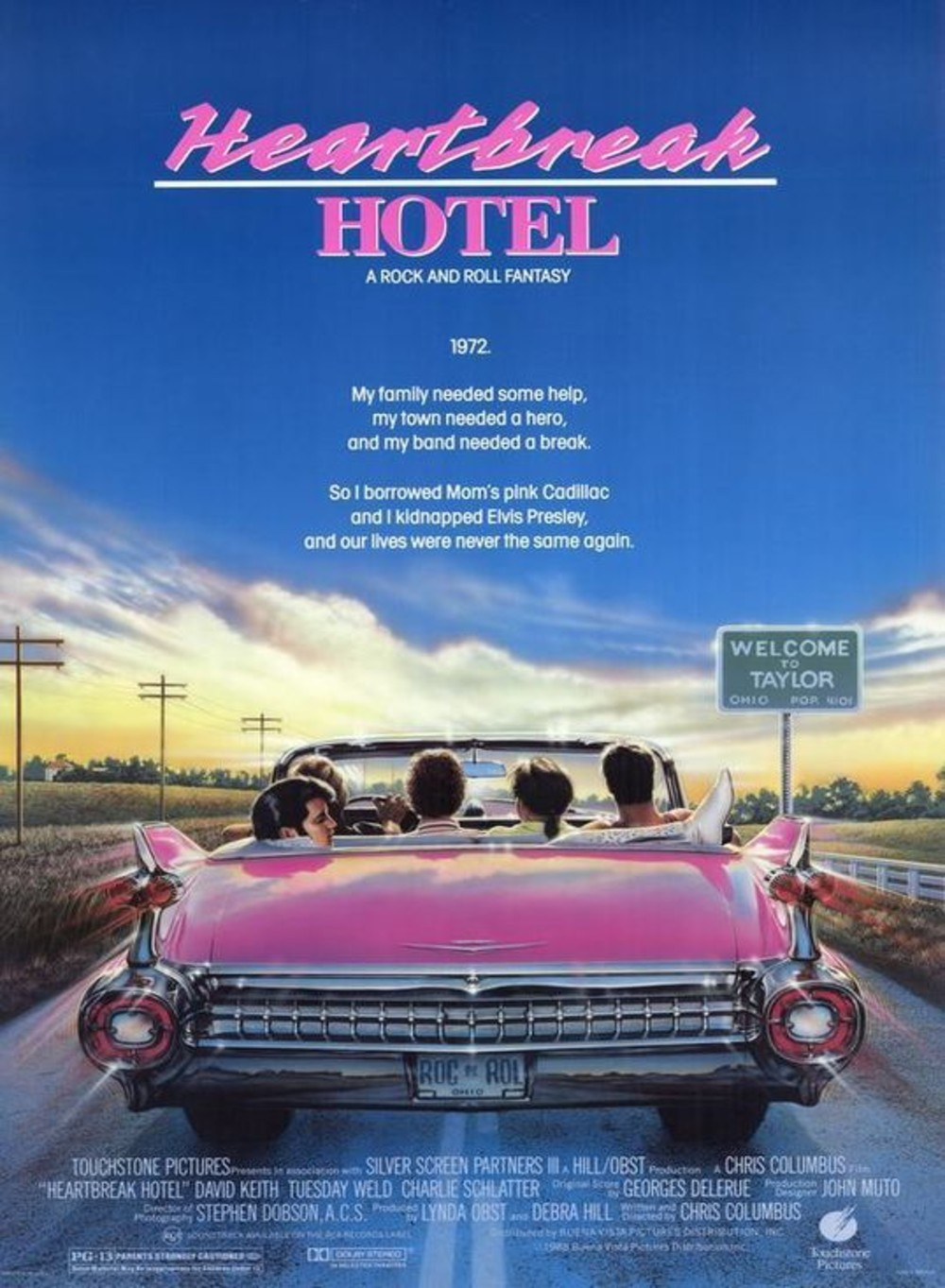 heartbreak hotel affiche poster disney touchstone Pictures