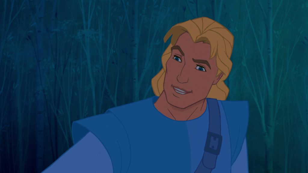 image john smith personnage pocahontas character disney