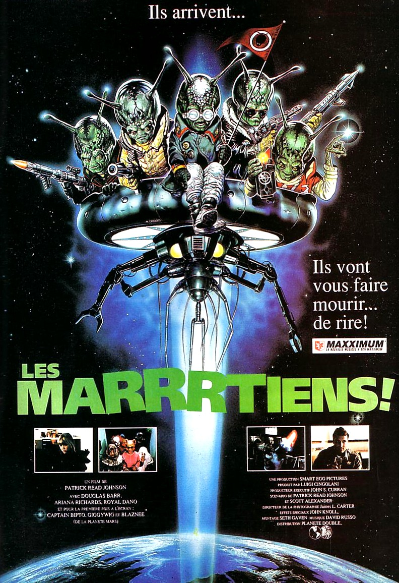 les marrrtiens disney touchstone spaced invaders affiche poster