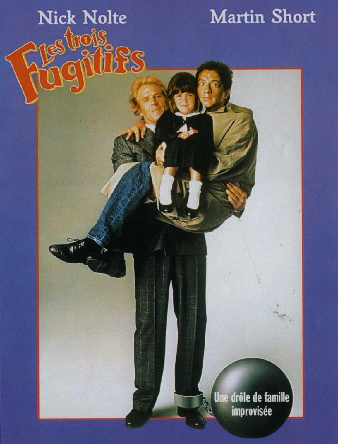 Les trois fugitifs  Disney touchstone affiche poster