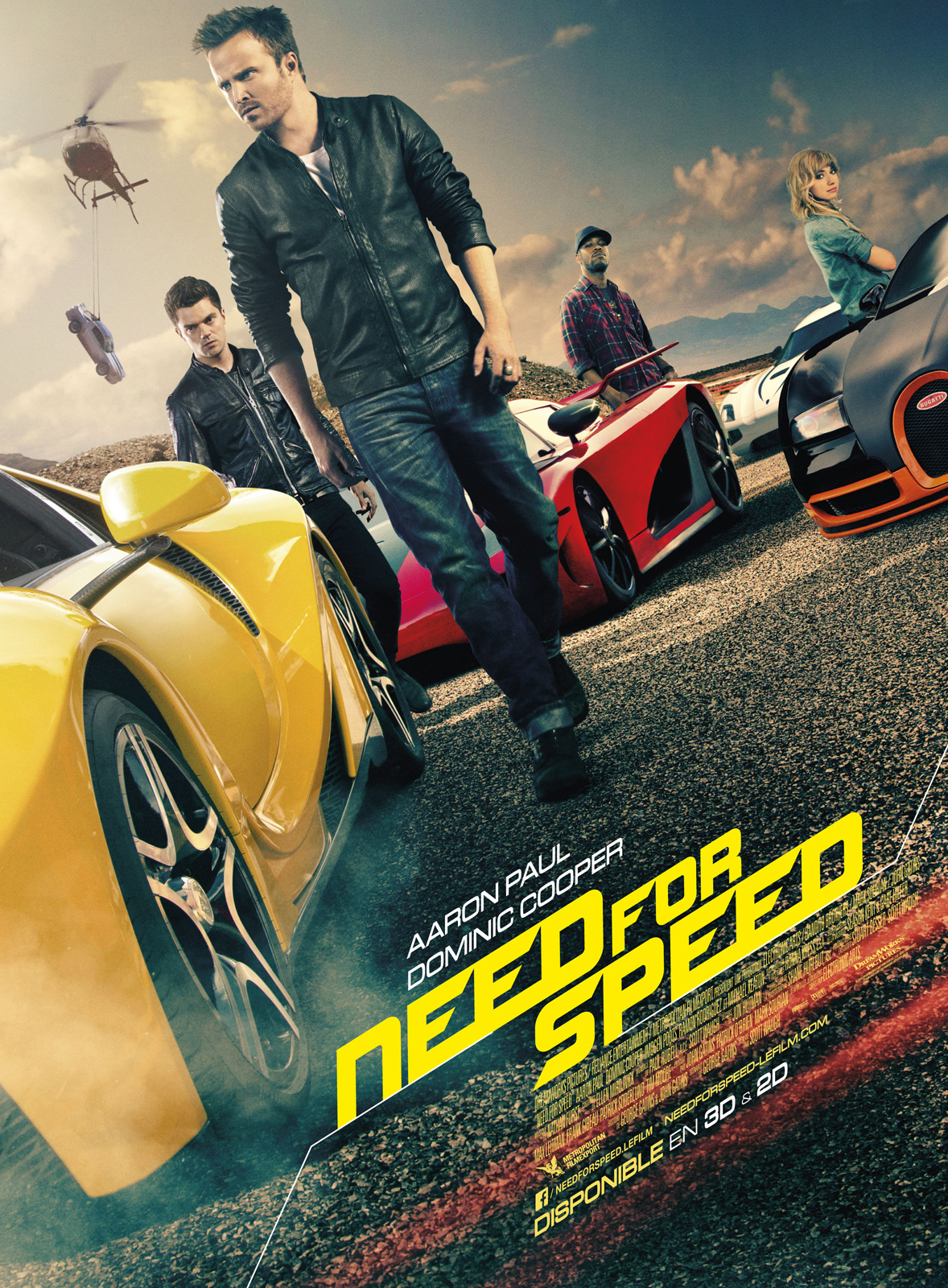 Need for speed affiche poster disney touchstone