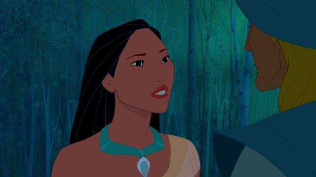 Personnage Character Disney Pocahontas légende indienne