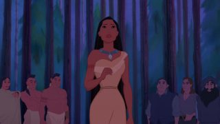 Personnage Character Disney Pocahontas légende indienne
