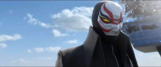 professeur callaghan yokai personnage character nouveaux heros disney big