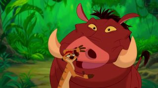 pumbaa disney animation personnage character roi lion king