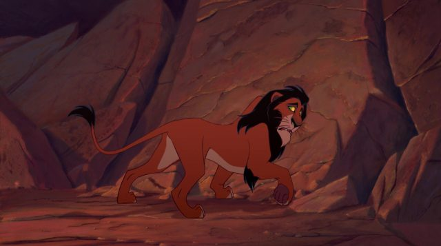 scar disney animation personnage character roi lion king