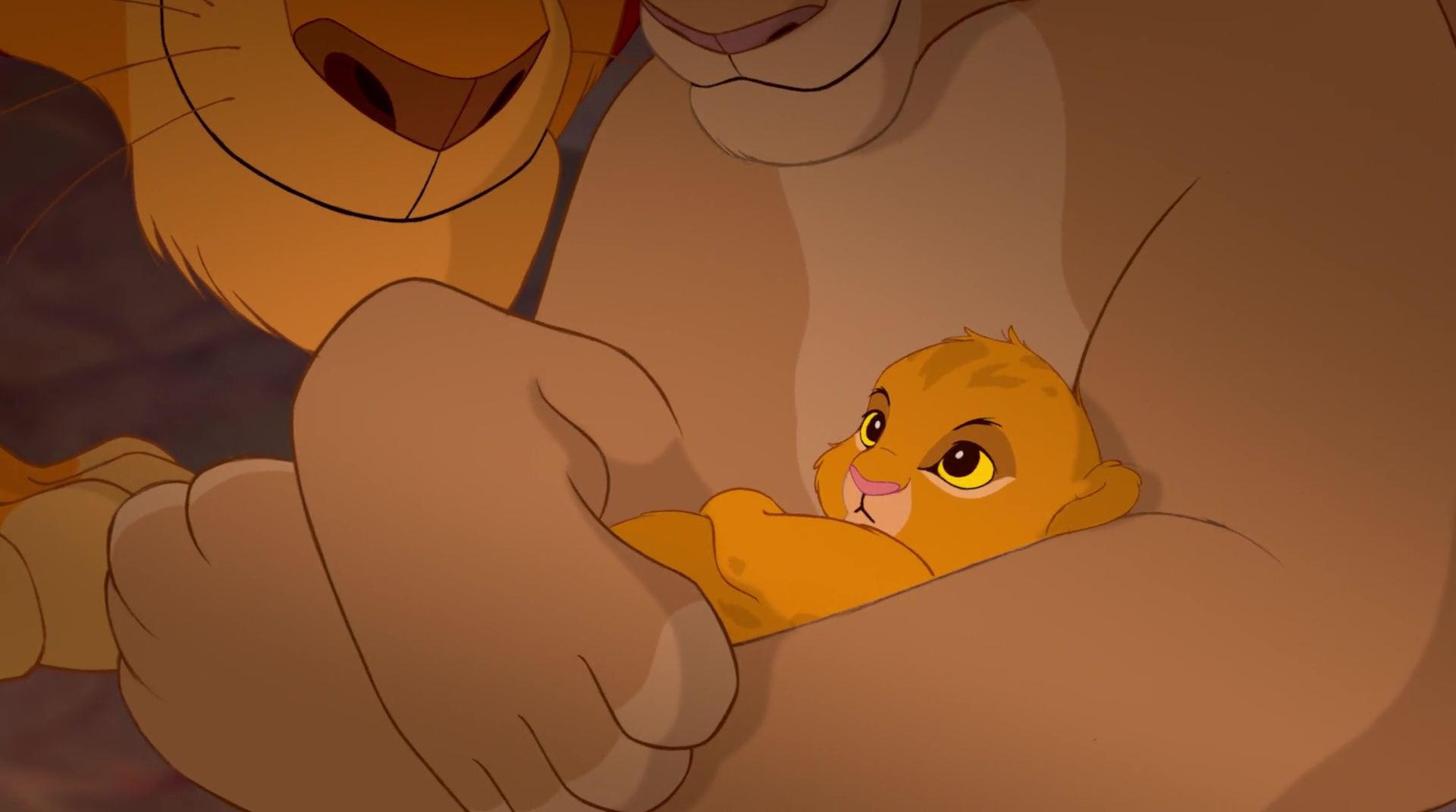 Simba, personnage dans...