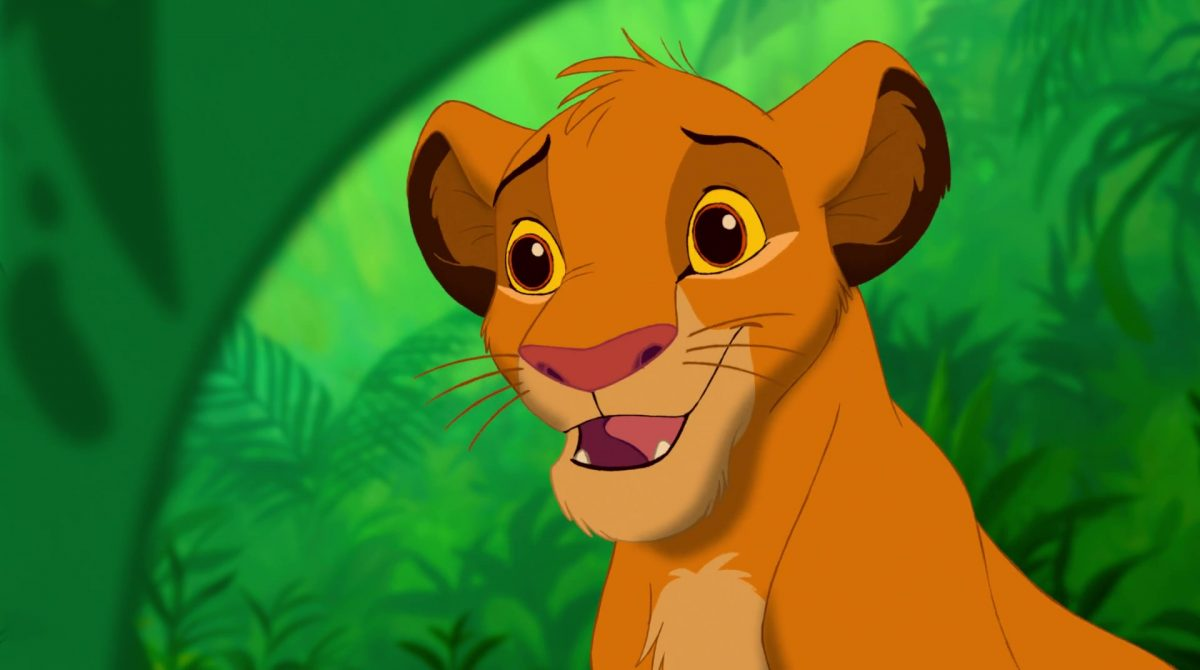simba disney animation personnage character roi lion king