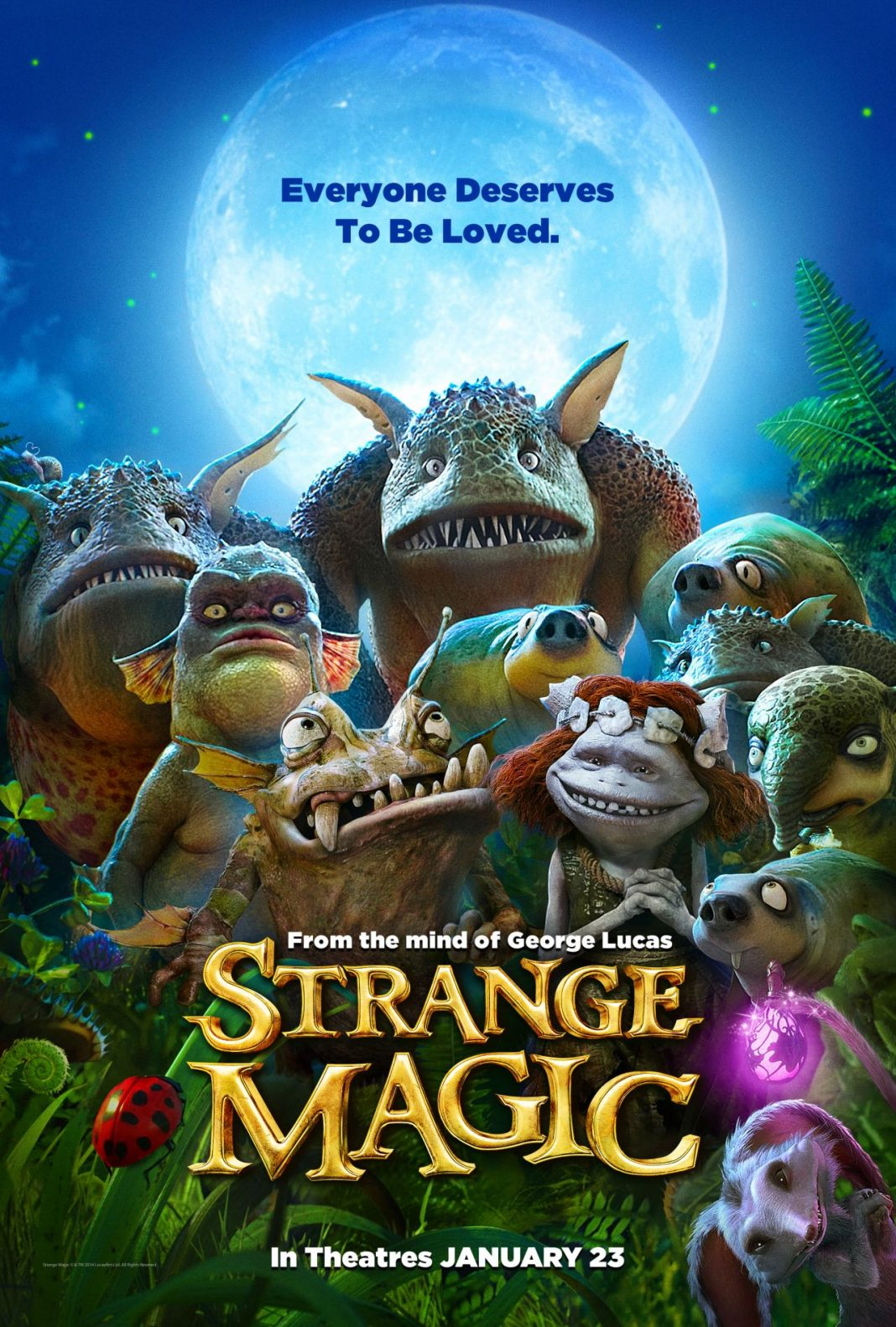 strange magic affiche Lucasfilm Touchstone