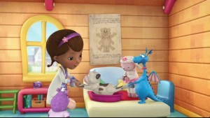 Illustration Docteur La Peluche Disney