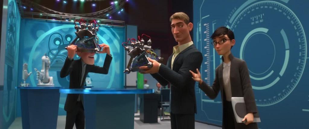 Illustration clin d'oeil nouveaux héros Disney
