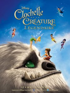 affiche film clochette creature legendaire poster legend neverblast disney toon studios