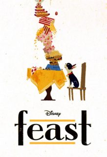 affiche poster festin feast disney