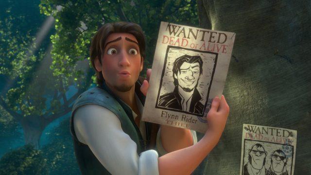 Flynn Rider Eugène Personnage Raiponce Disney Character Tangled