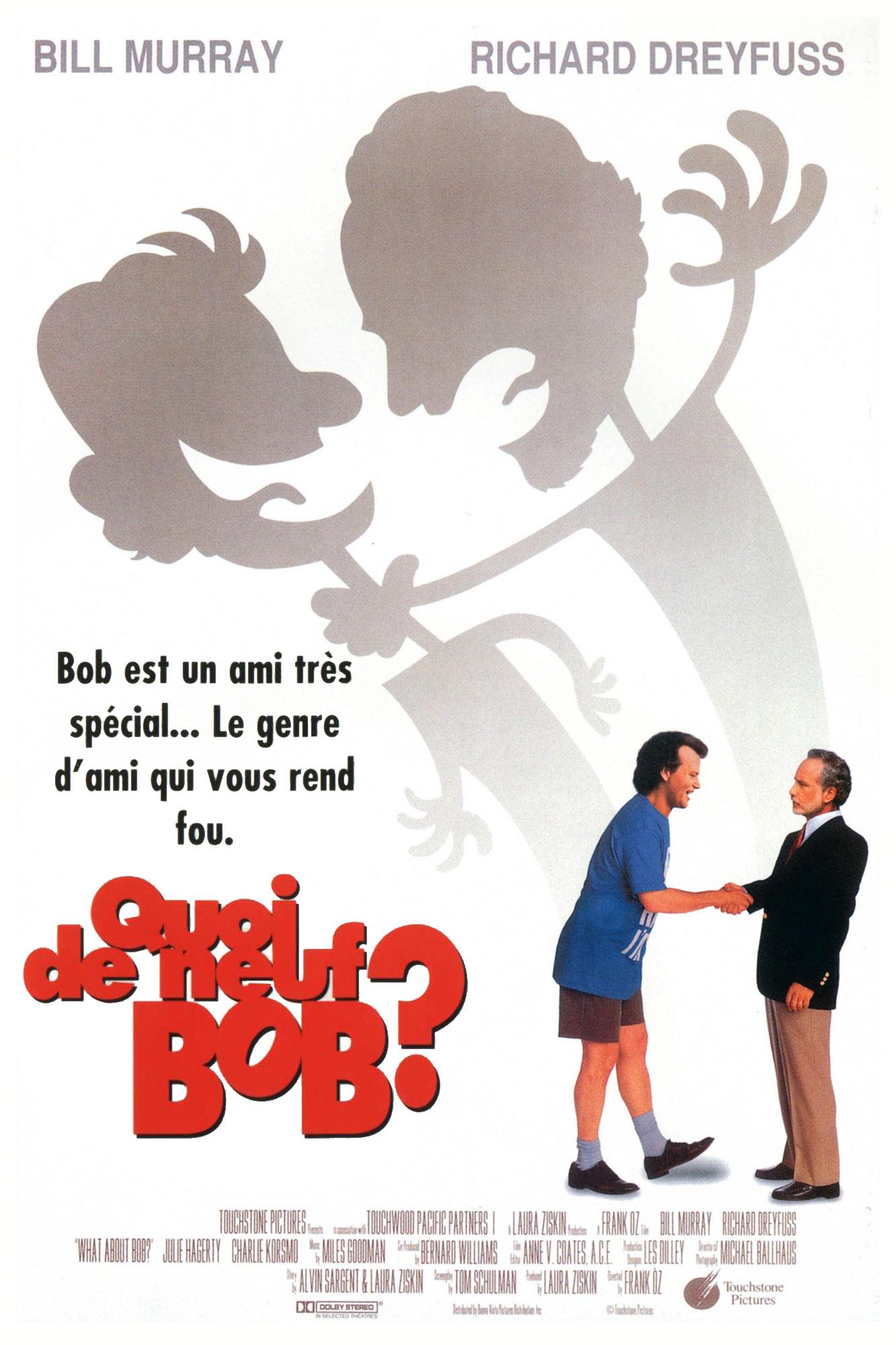Quoi de neuf bob ? affiche poster disney touchstone