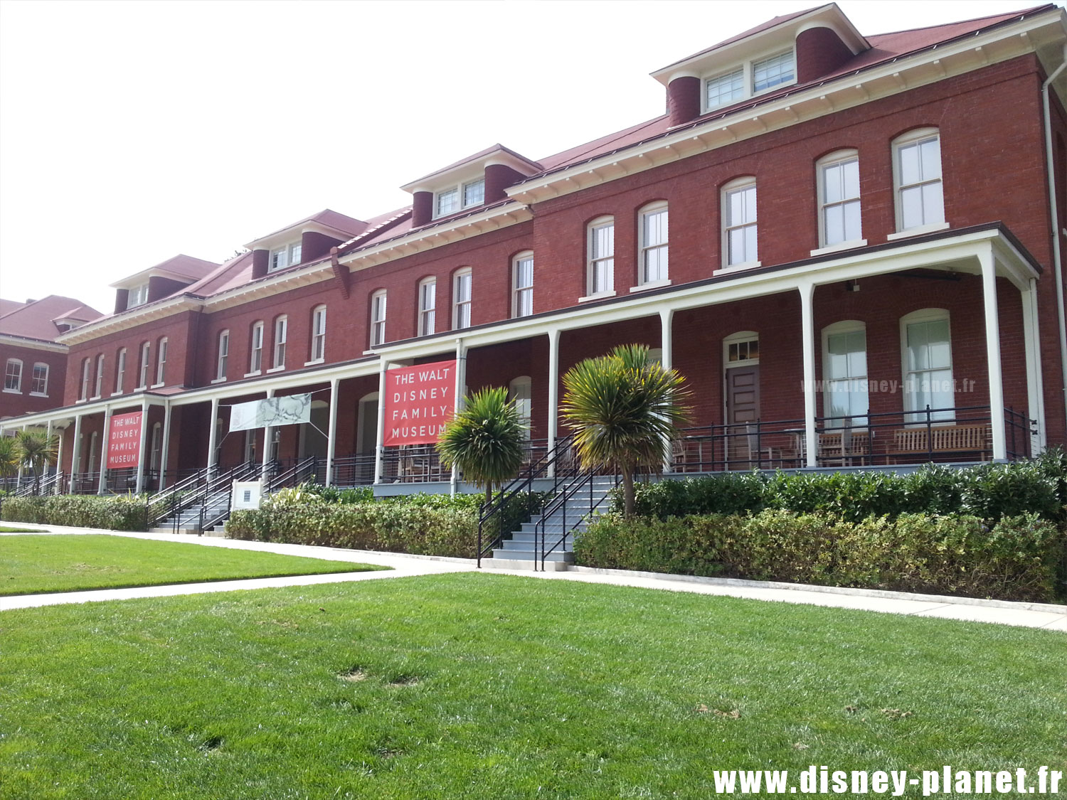 The Walt Disney Family Museum San Francisco Musée