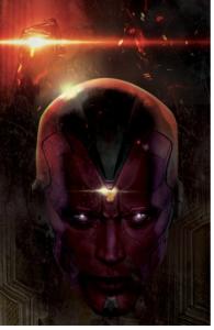 Avengers AoU artwork vision