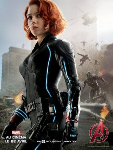 Avengers AoU poster Black Widow