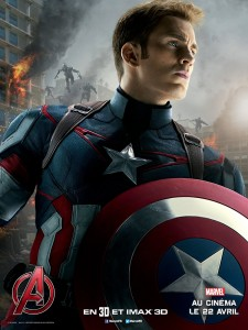 Avengers AoU poster Captain america