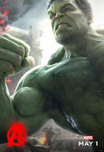 Avengers AoU poster Hulk