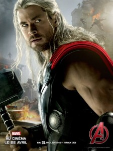 Avengers AoU poster Thor