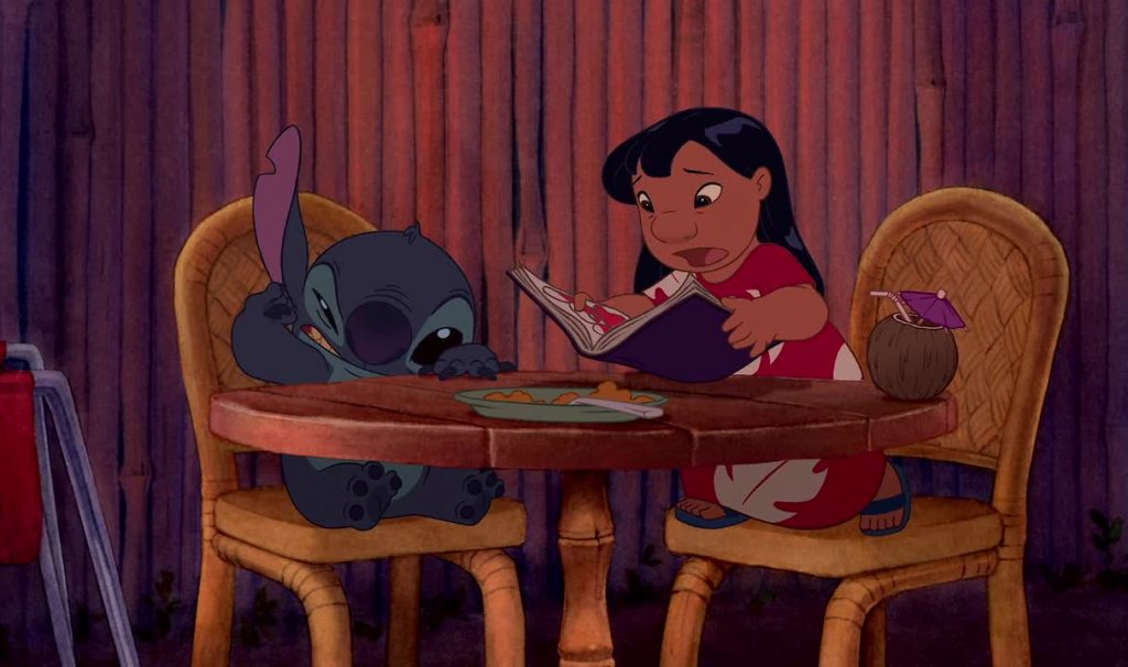 Illustration Lilo et Stitch Faux-Raccords