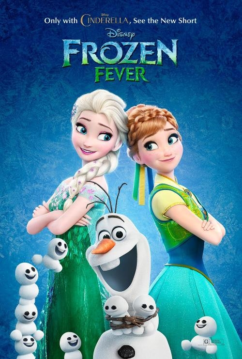 Illustration article affiche la reine des neiges Disney