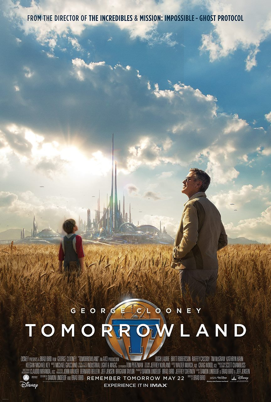 affiche à la poursuite de demain tomorrowland poster Disney Pictures