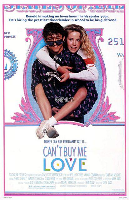Affiche Poster amour achète pas Can buy love disney touchstone
