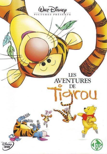 affiche poster aventures tigrou tiger movie disney