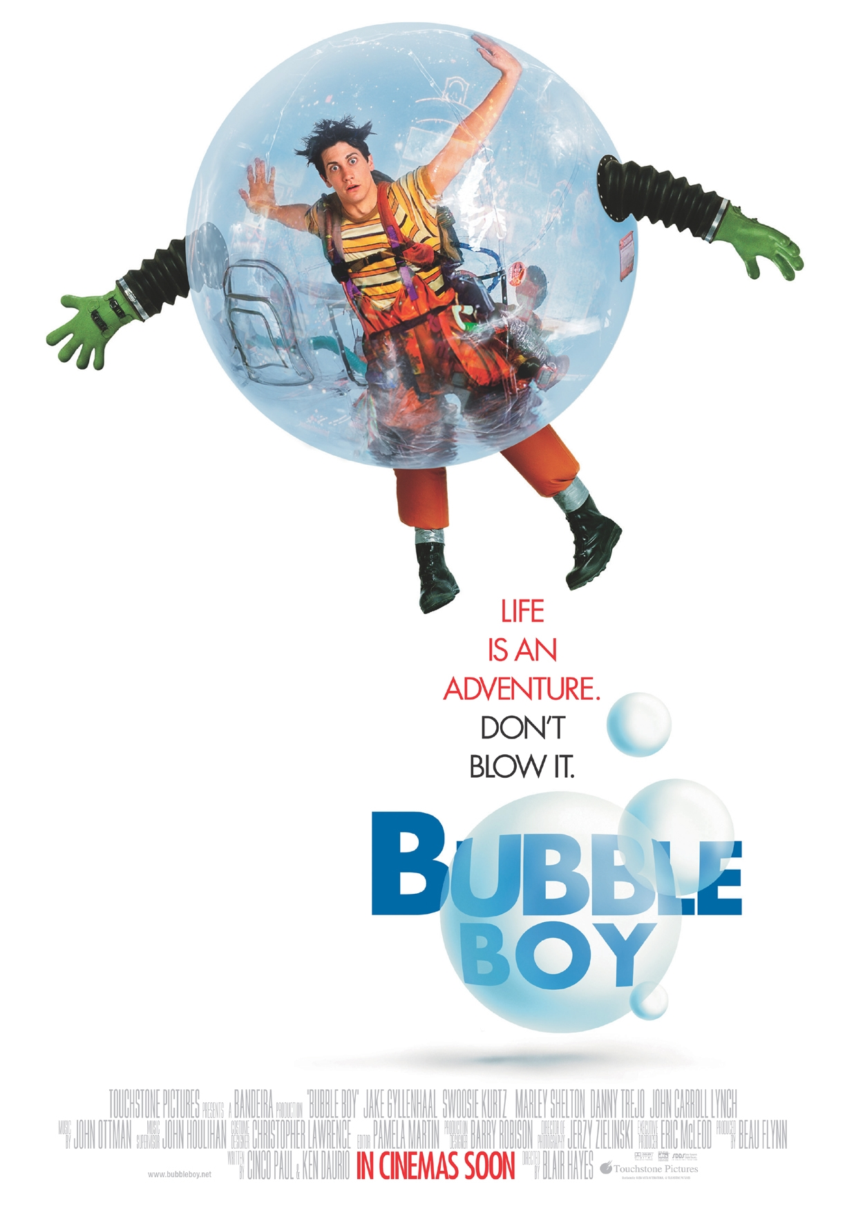 Affiche Poster bubble boy disney touchstone