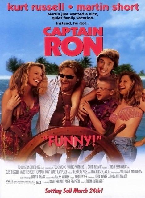 Affiche Poster captain ron disney touchstone