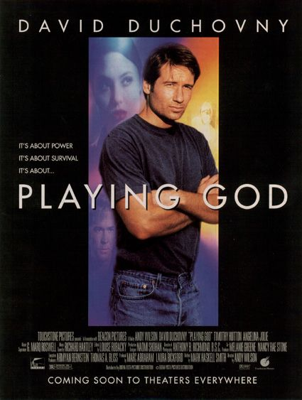 Affiche Poster damné playing god disney touchstone