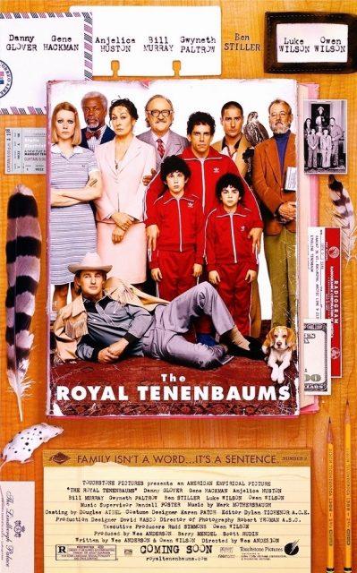 Affiche Poster famille royal tenenbaum disney touchstone
