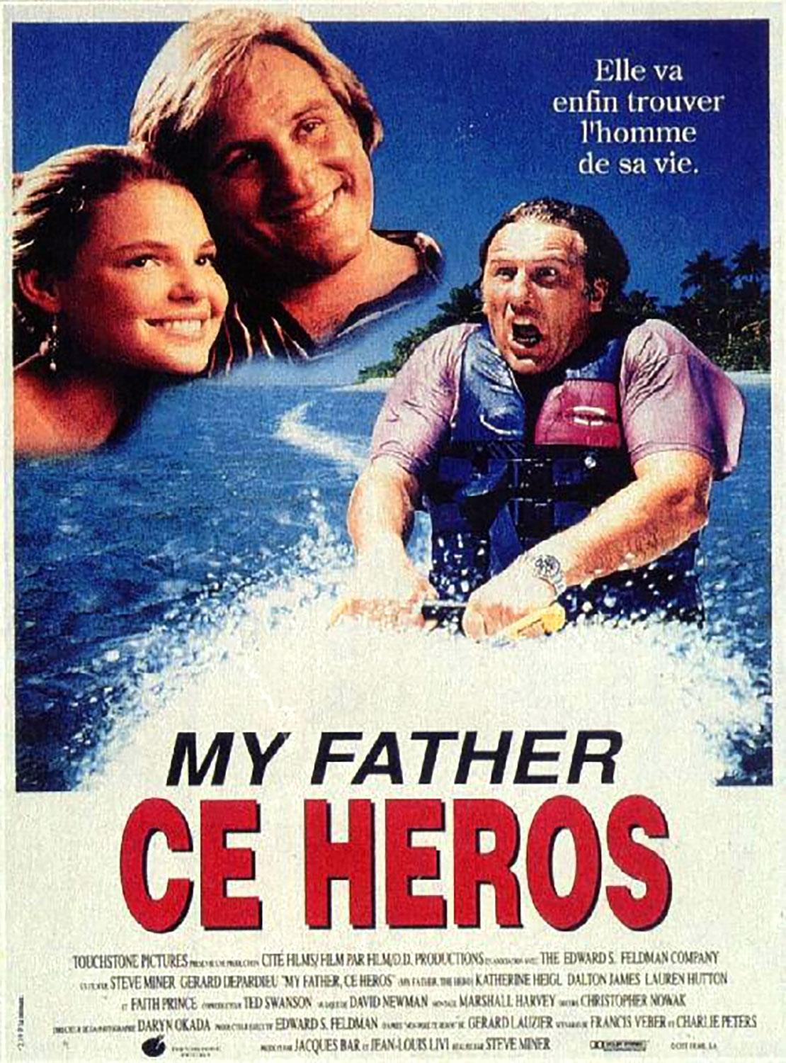 Affiche Poster father heros disney touchstone