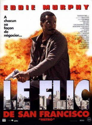 Affiche Poster flic san francisco metro disney touchstone